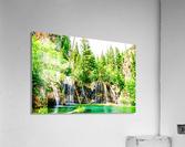 Waterfall Country Colorado 3 of 4  Acrylic Print