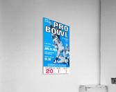 1968 Pro Bowl Football Ticket Stub Print  Acrylic Print