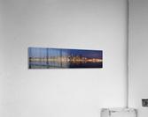 Seattle Skyline Panorama at Night  Acrylic Print