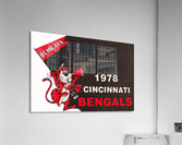 1978 Cincinnati Bengals Poster    Acrylic Print