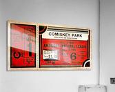 1933 Comiskey Park All-Star Game Ticket Art  Acrylic Print