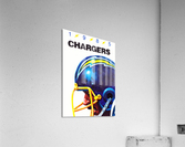 1985 San Diego Chargers Football Poster  Acrylic Print