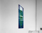 BLUE SAPPHIRE  590   Acrylic Print