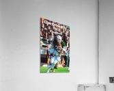 1987 Dartmouth Big Green Football Poster  Acrylic Print