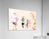 Day At The Race  Acrylic Print