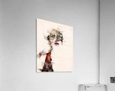 Belle dame du masque  Acrylic Print