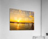 Low Country Sunset South Carolina  Acrylic Print