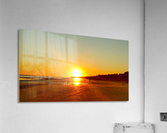 Sunset at the Atlantic Shore  Acrylic Print