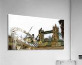 London fine art  - Tower bridge  Impression acrylique