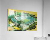 1982 BYU Cougar Stadium Art  Acrylic Print