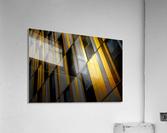 Yellow wall  Acrylic Print