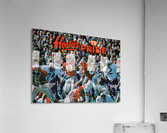 1979 Indiana Hoosiers Football Art  Acrylic Print