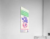 1978 World Series Ticket Art  Acrylic Print