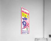 198o World Series Ticket Art Game 1  Acrylic Print