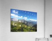 Swiss Highlands View to Forever  Acrylic Print