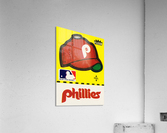 1981 Phillies Fleer Decal Wall Art  Acrylic Print