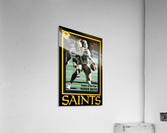 1988 New Orleans Saints Reuben Mayes Poster  Acrylic Print