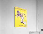 1988 Minnesota Vikings Football Poster  Acrylic Print