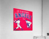 1964 Los Angeles Angels Baseball Art  Acrylic Print
