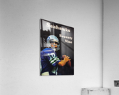 1979 Seattle Seahawks Jim Zorn Poster  Acrylic Print