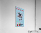 1975 Chicago White Sox Retro Poster  Acrylic Print