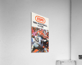 1982 ESPN College Football Guide Poster  Acrylic Print