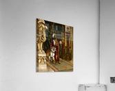 Le Sultan et son Tigre  Acrylic Print