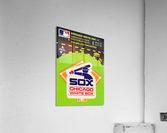 1980 Chicago White Sox Fleer Decal Wall Art  Acrylic Print