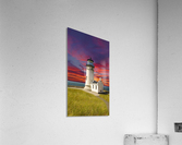The LightHouse at Sunset  Acrylic Print