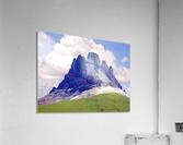 Mountain Peak in the Swiss Alps  Acrylic Print