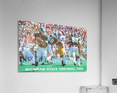 1984 Michigan State Football Poster  Acrylic Print