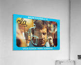 1977 UCLA Bruins Terry Donahue Football Poster  Acrylic Print