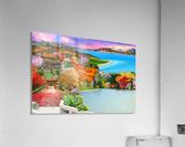 ASIAN HOME  Acrylic Print