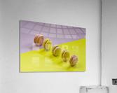food macaroon photography  Acrylic Print