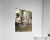 The Ballet Class by Degas  Acrylic Print