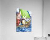 Sail Away with Us  Acrylic Print