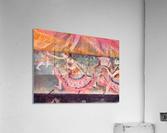 The curtain falls by Degas  Acrylic Print