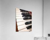 Piano Keys One Octave Plus  Acrylic Print