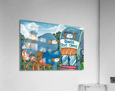 At the Post Office - Places in Bugville Collection 1 of 4  Acrylic Print