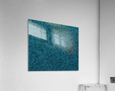 Dark Blue Glitter Pattern  Acrylic Print