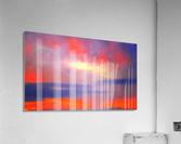 Orange Clouds  Acrylic Print