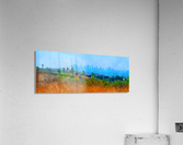 los angeles skyline art  Acrylic Print
