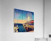 seattle great wheel  Acrylic Print