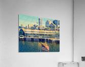 seattle skyline  Acrylic Print