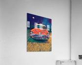 57 chevy car art  Acrylic Print