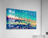 abstract blue sky ocean  Acrylic Print