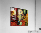 The fashion shop by Degas  Acrylic Print