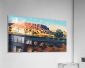 new mexico highway  Acrylic Print