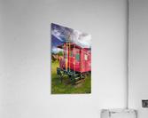 Caboose  Acrylic Print