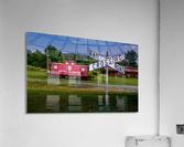 Rail Car in Exmore VA  Acrylic Print